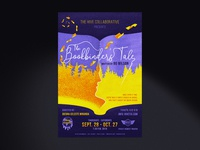 The Bookbinder's Tale Theater Play Poster