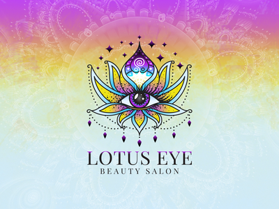 Lotus Eye Logo Design