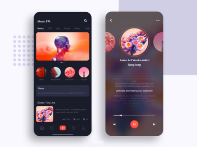 Moon FM App
