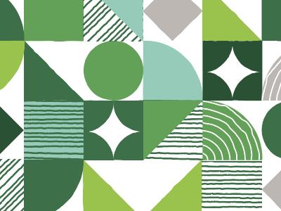 Pattern Play geometric pattern geometric ariel fields green pattern