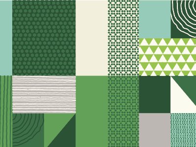 Green Pattern Fun geometric pattern geometric ariel fields green pattern