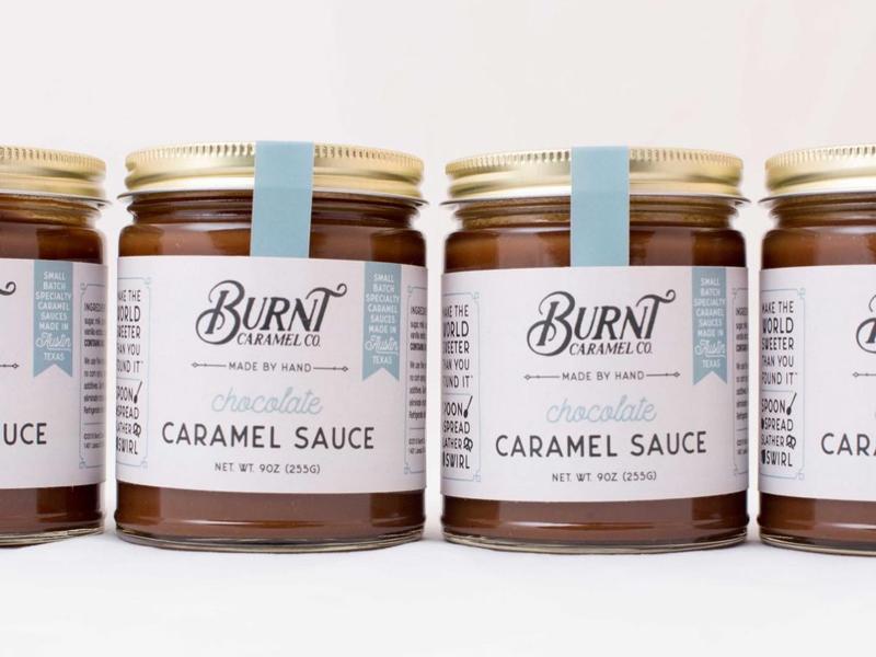 Burnt Caramel Sauce chocolate