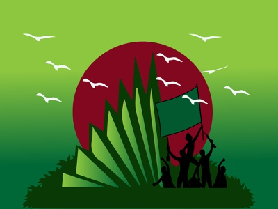 Independence Day Illustration vector design illustration