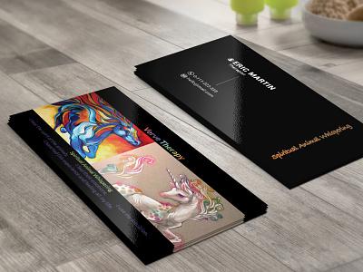 Professional Business Card illustration design business card brand identity design branding