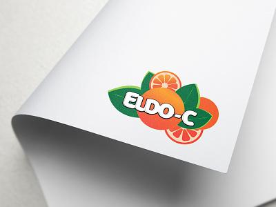 Juice Company Logo Design typography logo design brand identity design illustration branding