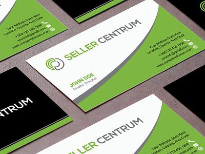 Professional Minimalist Business Card Design business card brand identity design design branding