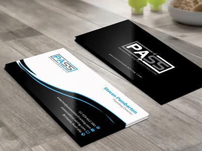 Air Company Business Card Design flat web professhional app vector logo business card brand identity design design branding