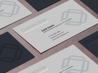 Minimalist Business Card Design minimal ux web professhional vector business card brand identity design design branding