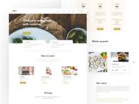 KitchenMobile / Web layout