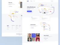 BlueBrowser - Web layout