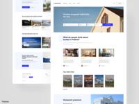 Rent a home - Website