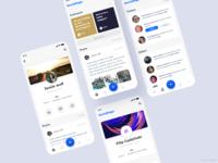App project,  social media portal