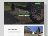 Electric scooters website