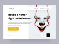 Horror night / Web design