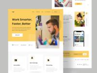 Work Smarter, Faster, Better / Concept
