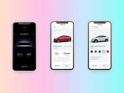 Tesla Model S | Concept Ui