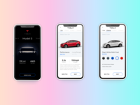 Tesla Model S   Concept Ui