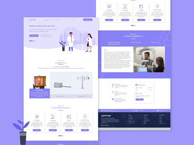 oral website redesign dental care clinic dental oral redesign concept medical website design medical design ui design