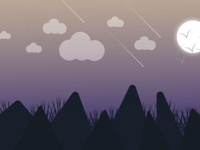 Night Time Illustration