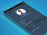 profile app layout