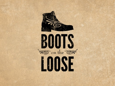Boots on the Loose branding logo