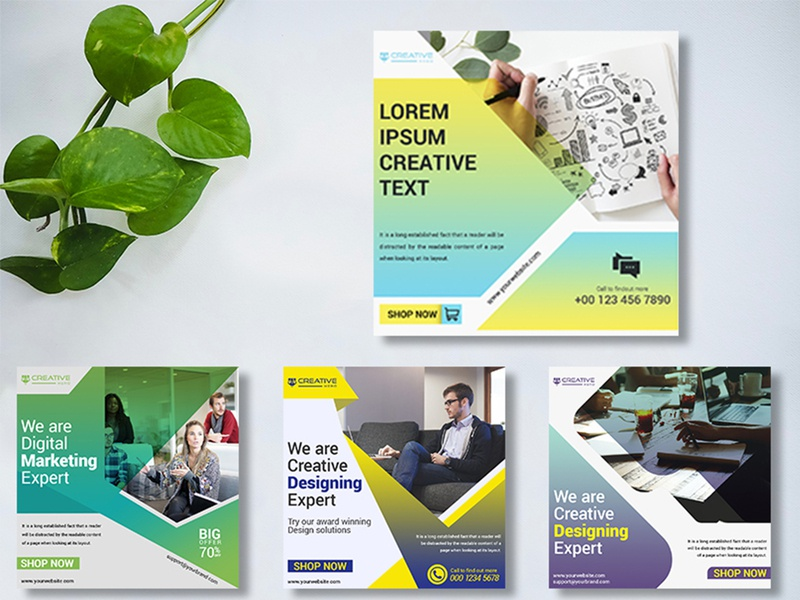Brand Advertisement Ideas Designs Themes Templates And Downloadable Graphic Elements On Dribbble