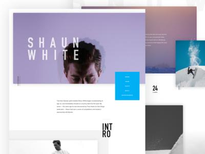 New Shaun White Redesign