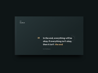 book dark theme quote dark app design ui simple clean minimal brandnew