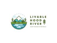 LIVABLE HOOD RIVER - Logo design
