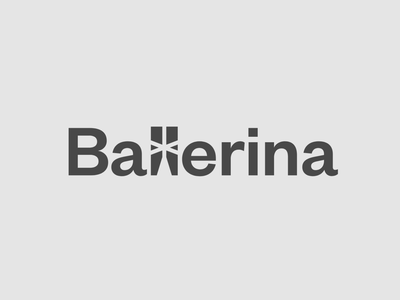 Ballerina Programming Language Logo brand monogram branding minimal tech dance hidden meaning programming hidden logo