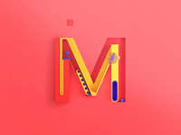 M - more, 3d letters