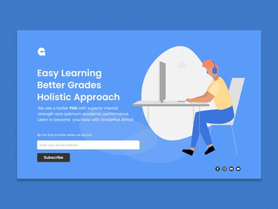 GradePlus Landing Page
