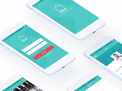 Mockup Mobile App Design