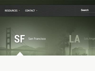 SF / LA navigation