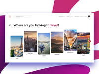 Airbnb Travelling Page