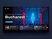 Songkick Website Redesign