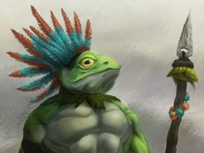 Frog Warrior