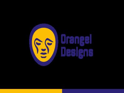 Orangel Designs logo - Personal Brand - 2019