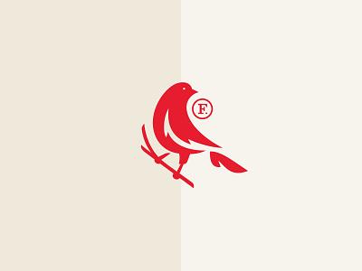 Finch Rebrand — Logo illustration icon financial bird branding logo