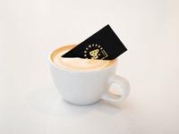 Badcoffee Branding — Card Glamour Shot II