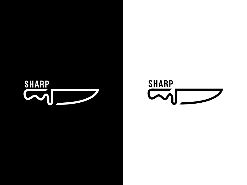 sharp by Alisson Dias on Dribbble