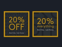 Email banner for fashion marketplace