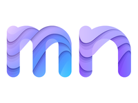 Letter m + n