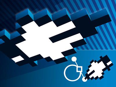 Design Invaders anchor space invaders atari technical illustration vector illustration vector art vector retro logo pixel clasic game gamer arcade pen