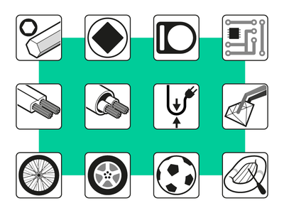 Industrial Icon Set 3