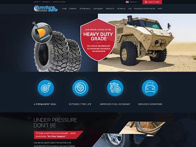 PunctureSafe Wb Design web development wordpress custom theme web design ui design