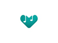 Music Love Logo Concept