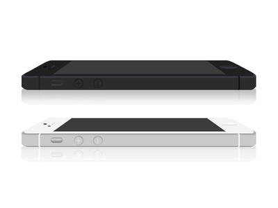 iPhone 5 FLAT iphone 5 flat