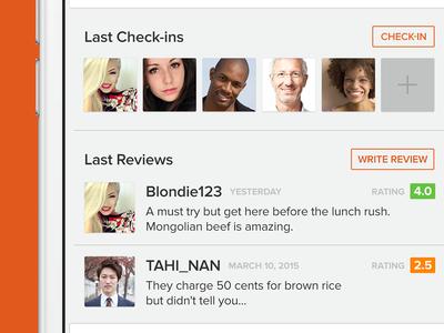 Random Food Finder App ios food finder app checkin review comment