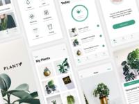 Plant Care App Design